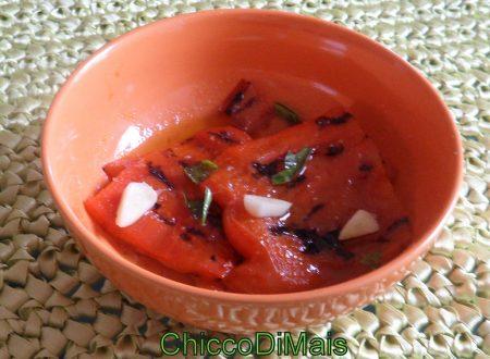 Peperoni grigliati (ricetta contorno)