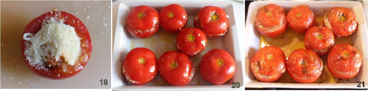 pomodori ripieni di melanzane alla parmigiana ricetta vegetariana il chicco di mais 7