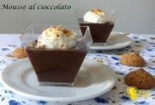 Mousse al cioccolato (ricetta francese)