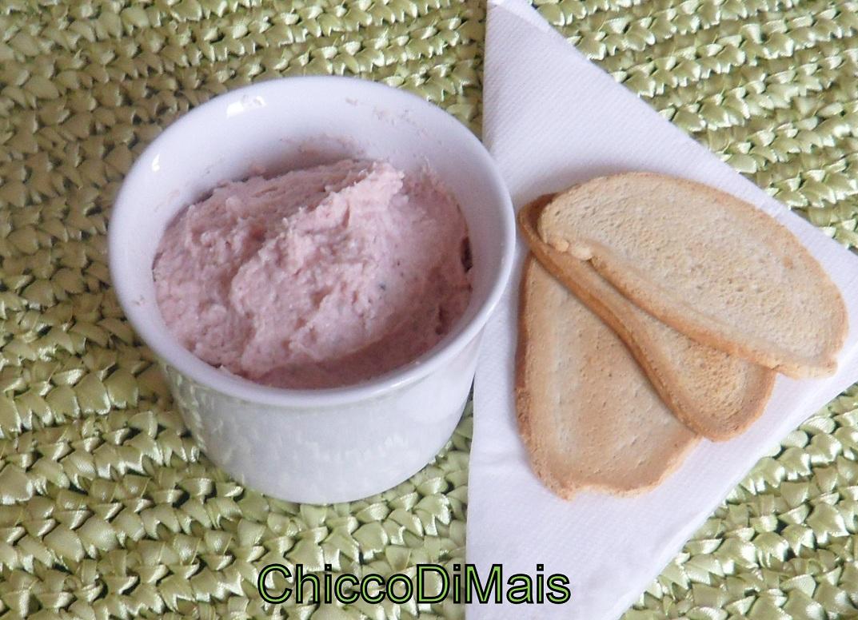 Mousse di prosciutto cotto ricetta antipasto il chicco di mais