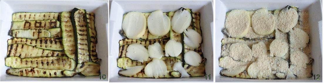 Parmigiana di zucchine in bianco ricetta vegetariana il chicco di mais 4
