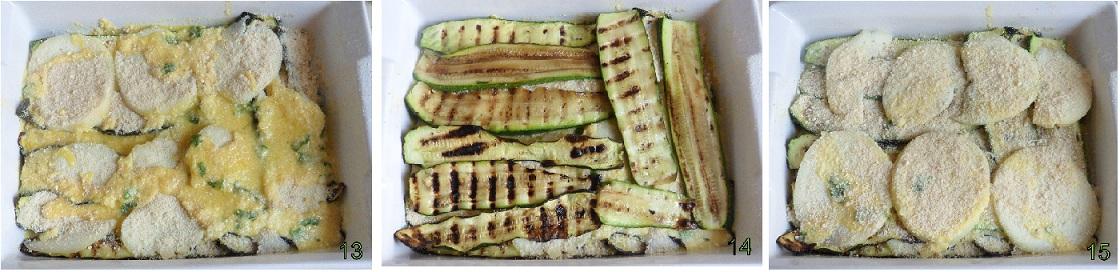 Parmigiana di zucchine in bianco ricetta vegetariana il chicco di mais 5