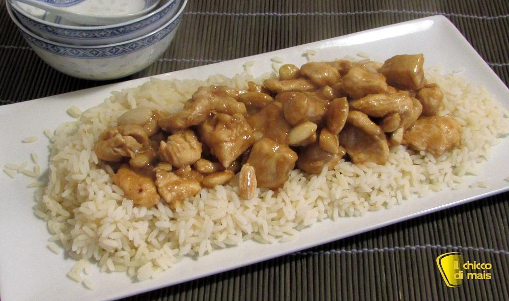Pollo alle mandorle ricetta cinese facile e veloce   Il chicco di mais