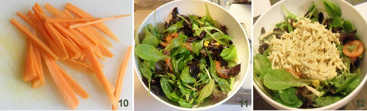insalata di pollo ricetta piatto unico il chicco di mais 4