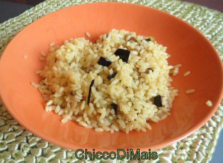 Riso con melanzane e curry (ricetta veloce)