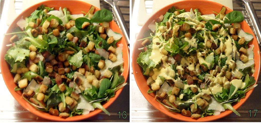 Caesar salad ricetta con salsa caesar fatta in casa il chicco di mais 6