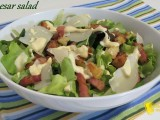 Caesar salad ricetta con salsa Caesar fatta in casa il chicco di mais