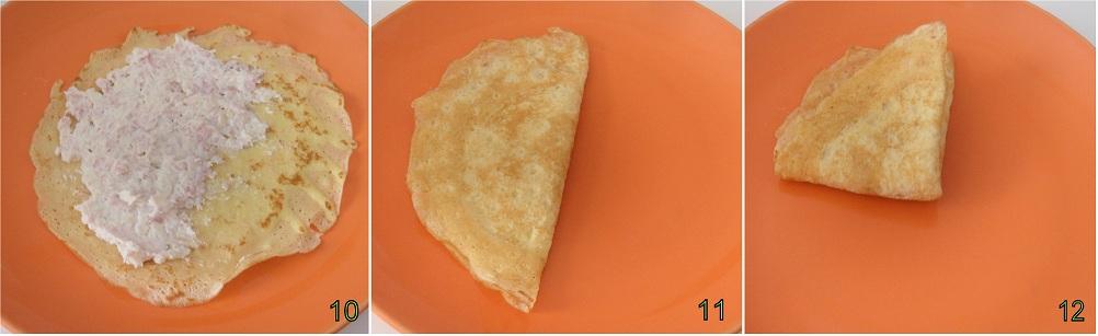Crepes con prosciutto e formaggio ricetta al forno Il chicco di mais 4