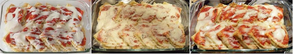 Crepes con prosciutto e formaggio 6 cuocere in forno