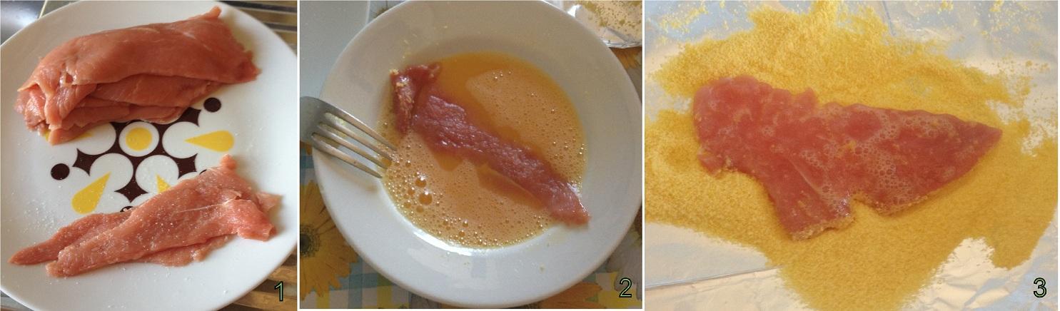 Fettine panate ricetta con farina di mais il chicco di mais 1