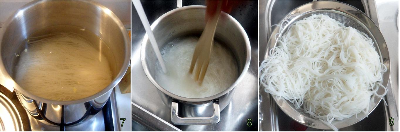 Spaghetti di riso con gamberi e verdure ricetta cinese il chicco di mais 3