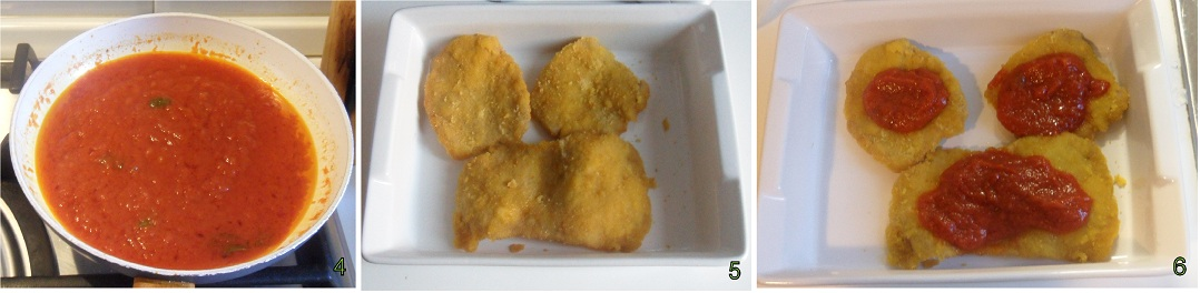 fettine panate con pomdoro e formaggio ricetta del riciclo il chicco di mais 2