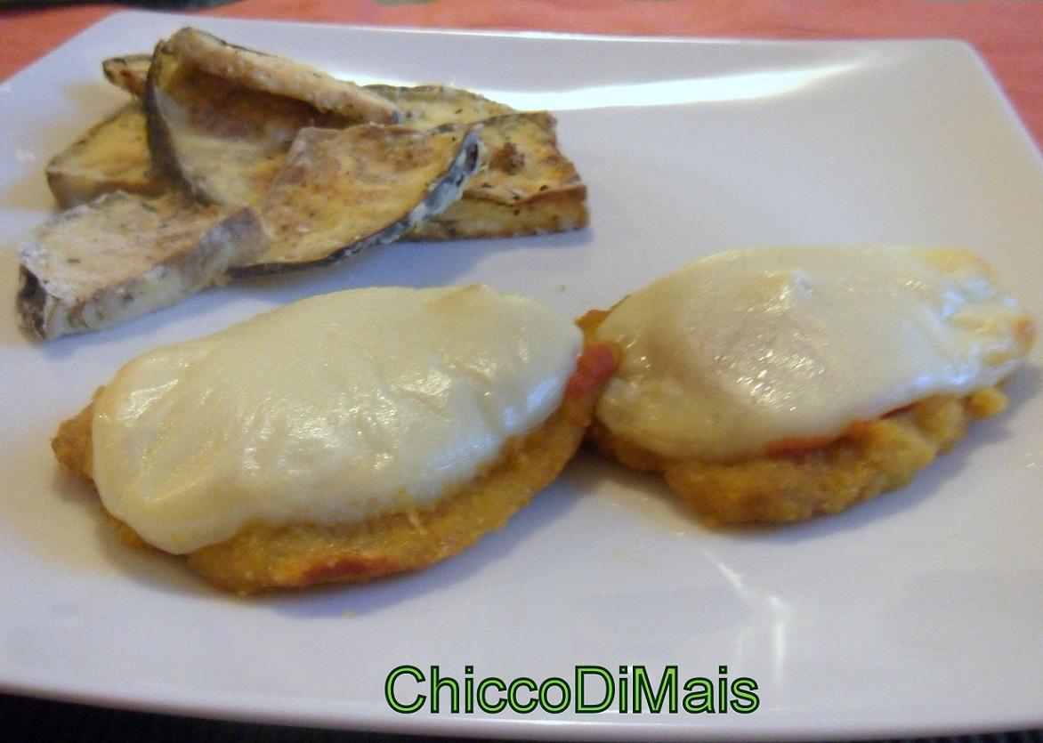 fettine panate con pomdoro e formaggio ricetta del riciclo il chicco di mais