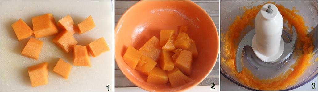 Mini crostata di zucca ricetta per Halloween il chicco di mais 1