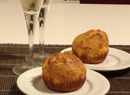 Muffin con zucca e brie (ricetta salata)