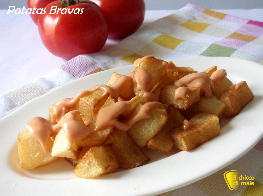 Patatas bravas ricetta spagnola il chicco di mais