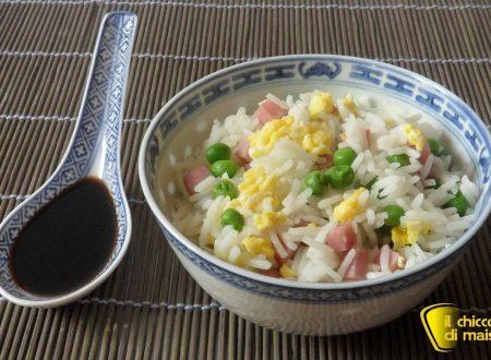 Riso cantonese (ricetta cinese)