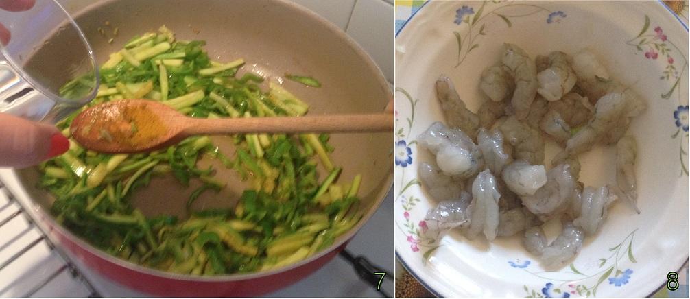 Riso con gamberi e verdure ricetta orientale il chicco di mais 3