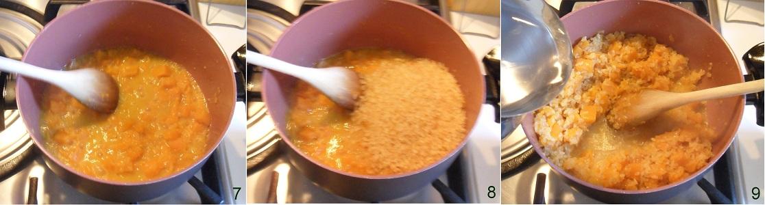 Risotto alla zucca ricetta di stagione il chicco di mais 3