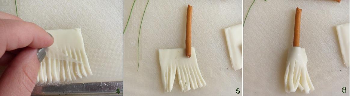 Scope della strega ricetta antipasto per Halloween il chicco di mais 2