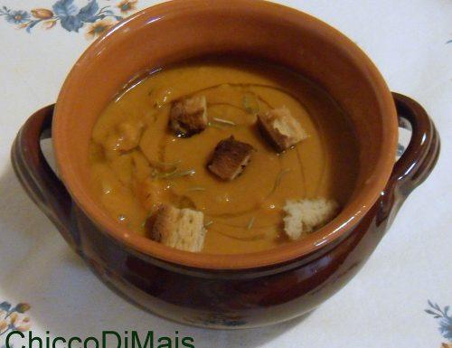 Zuppa di fagioli e zucca (ricetta autunnale)