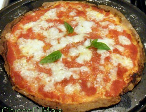 Impasto per pizza senza glutine (ricetta base)