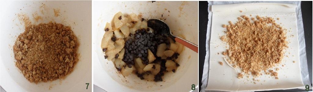 strudel di pere e cioccolato ricetta dolce il chicco di mais 3