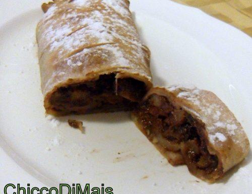 Strudel di pere e cioccolato (ricetta dolce)