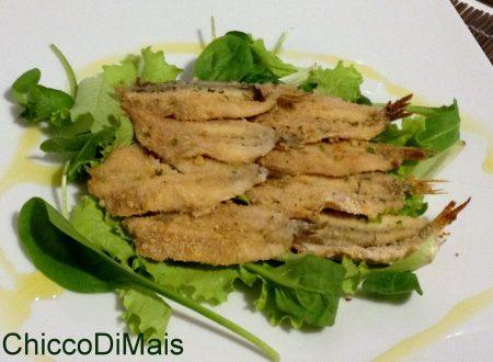 Alici impanate al forno (ricetta light)