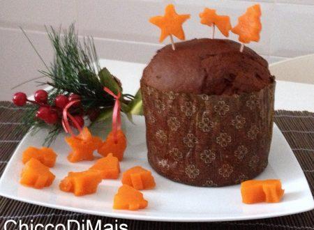 Decorazioni di zucca candita (ricetta di Natale)