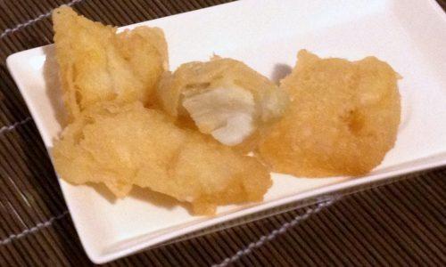 Filetto di baccala fritto (ricetta con pastella di farina di riso)