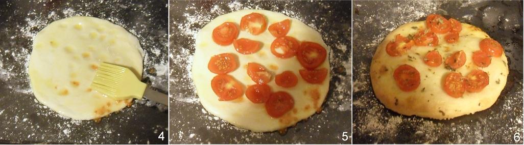 Focaccia senza glutine con pomodorini e origano ricetta aperitivo il chicco di  mais 2