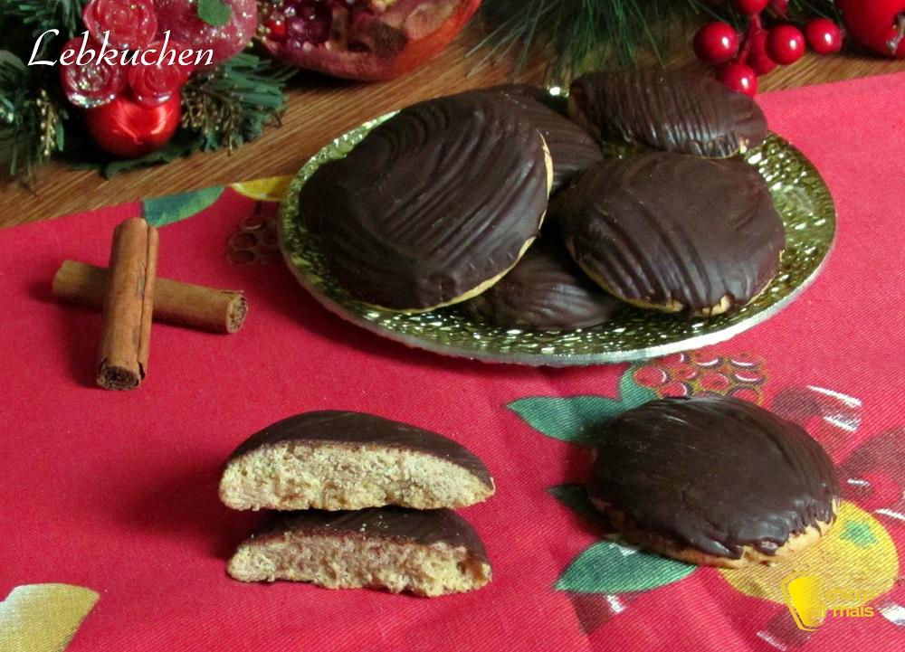 dolci di natale Lebkuchen ricetta biscotti speziati di Natale biscotti dei mercatini di natale il chicco di mais