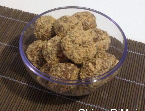 Palline di nutella e mascarpone (ricetta senza uova)