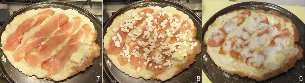 Pizza speck e brie ricetta saporita il chicco di mais 3