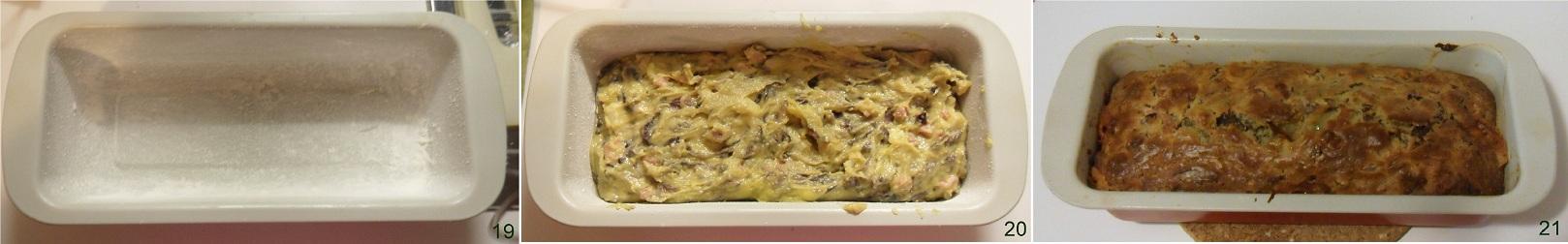 Plum cake salato con pancetta e radicchio ricetta antipasto il chicco di mais 7
