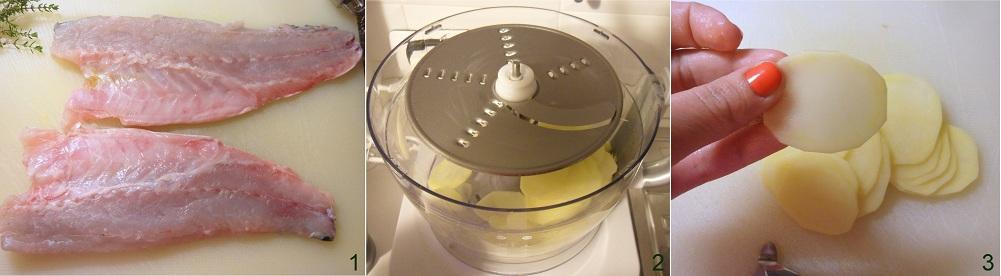 Spigola in crosta di patate ricetta secondo il chicco di mais 1