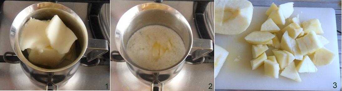 Torta di mele frullate ricetta con mele nell' impasto il chicco di mais 1
