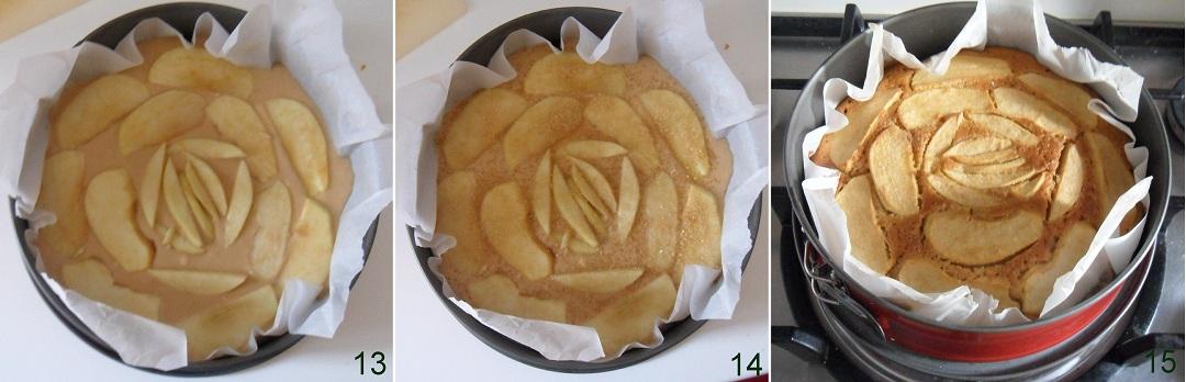 Torta di mele ricetta con mele nell' impasto il chicco di mais 5