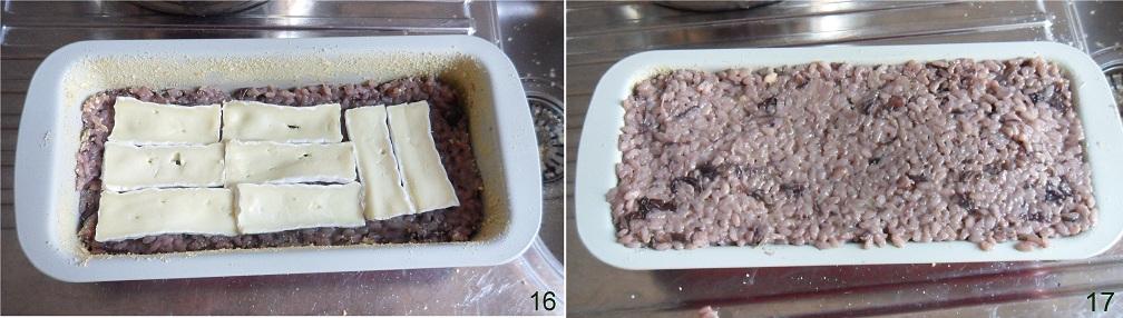Tortino di riso al radicchio e formaggio ricetta primo il chicco di mais 6