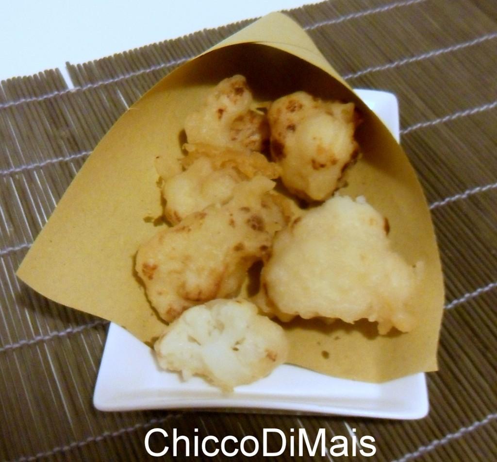 Broccolo o cavolfiore fritto in pastella ricetta con farina di riso il chicco di mais