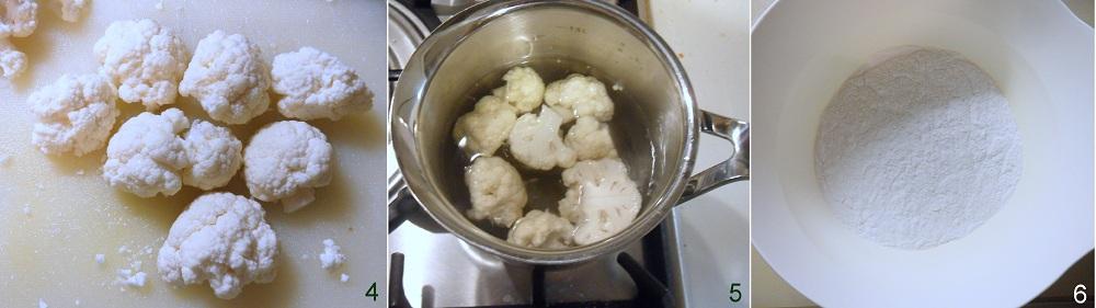 Broccolo o cavolfiore fritto in pastella ricetta con farina di riso il chicco di mais 2