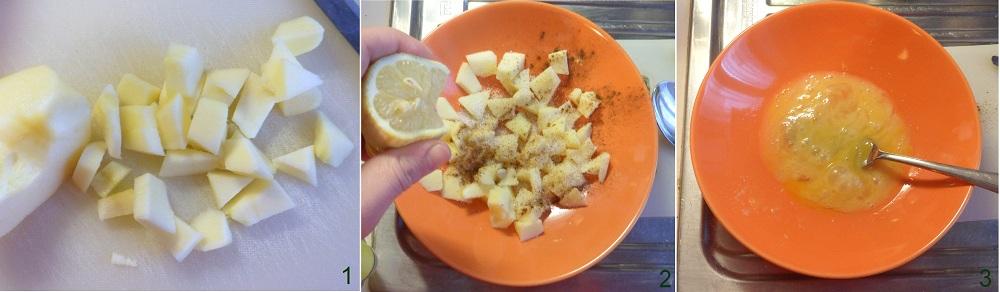 Budino di panettone alle mele ricetta del riciclo il chicco di mais 1
