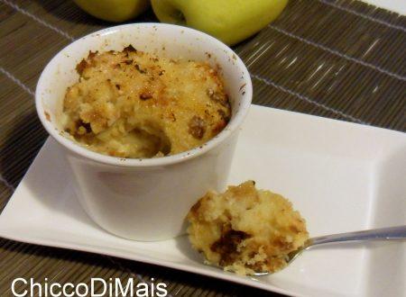 Budino di panettone alle mele (ricetta del riciclo)