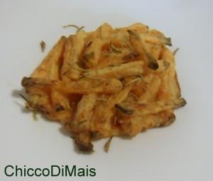 Contorno della vigilia tortini di zucca croccante ricetta menu di Natale il chicco di mais