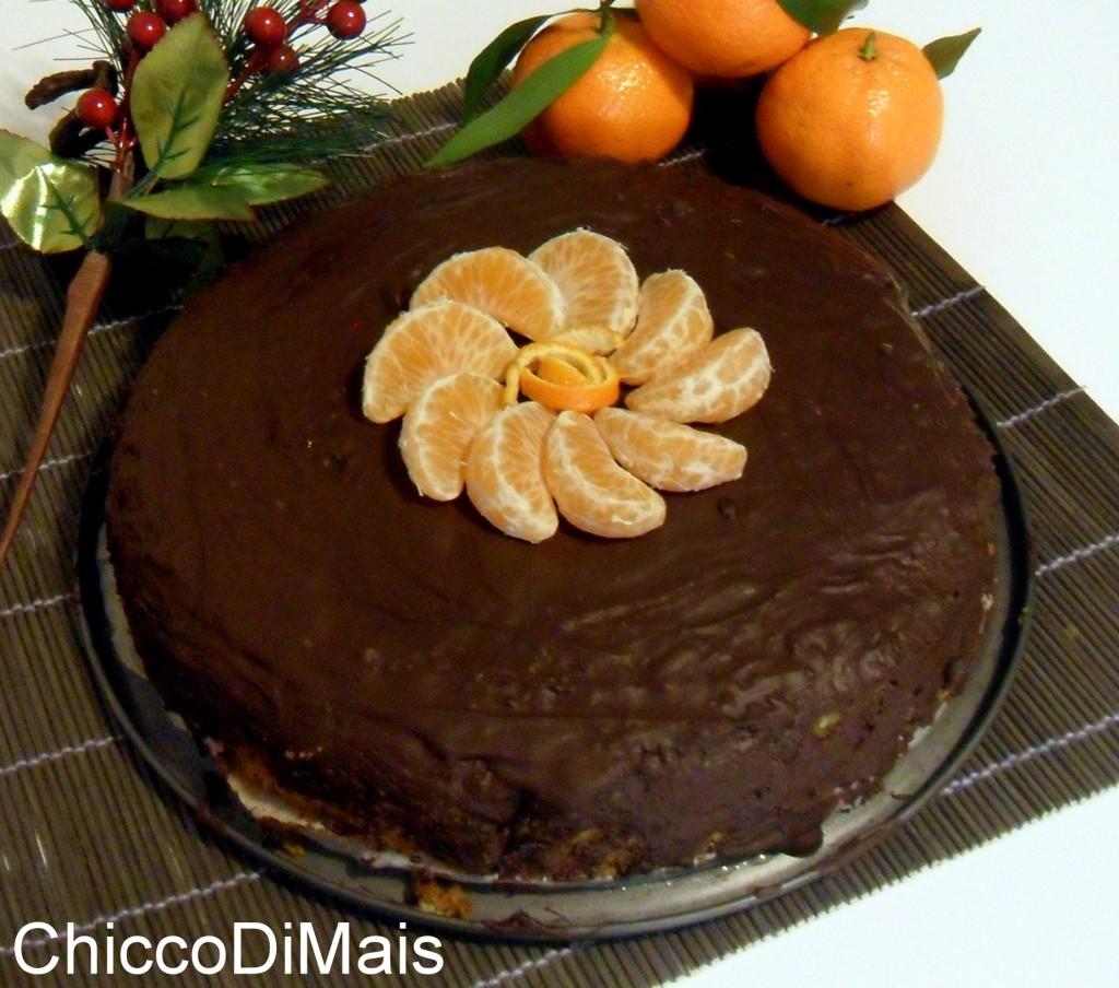 Dessert del pranzo del 25 torta al mandarino ricetta menu di Natale il chicco di mais