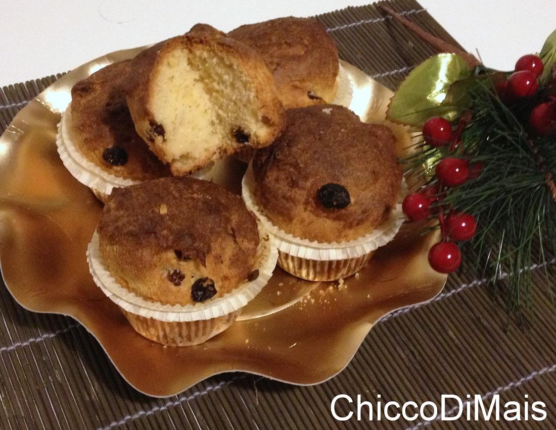 I dolci di natale mini panettone senza glutine ricetta menu di Natale il chicco di mais