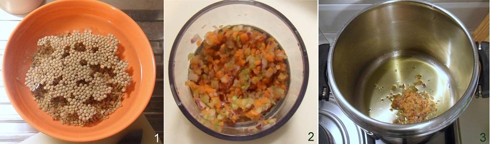 Minestra di pasta e lenticchie ricetta vegana il chicco di mais 1