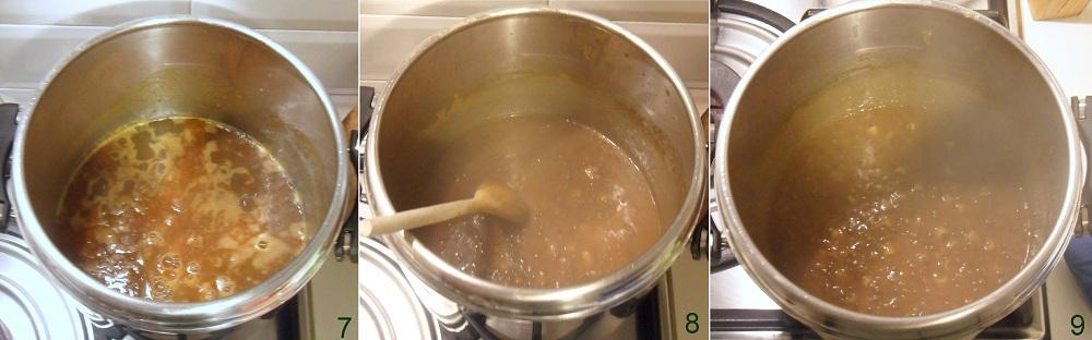 Minestra di pasta e lenticchie ricetta vegana il chicco di mais 3