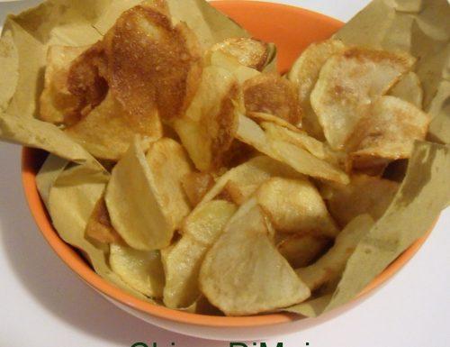 Patate fritte a sfoglia (ricetta chips di patate)
